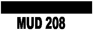 Harris County Municipal Utility District No. 208 Logo